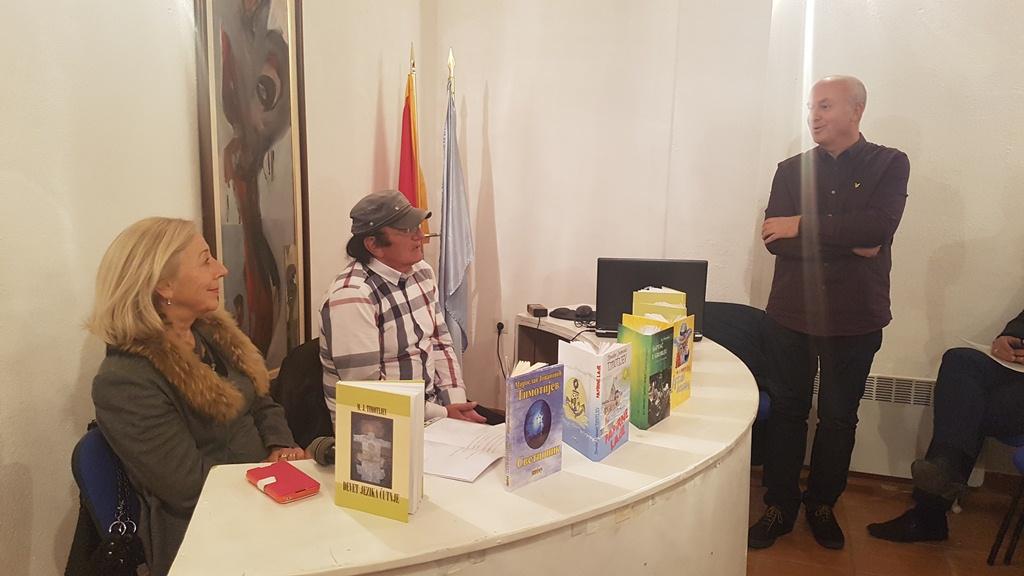 Održano književno veče Miroslava Jovanovića Timotijeva: Bijelo Polje je grad koji je iznjedrio velike pisce