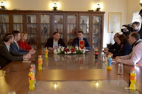 Ministar Bogdanović u Bijelom Polju: Nastaviće se dobra saradnja Ministarstva kulture i Opštine Bijelo Polje